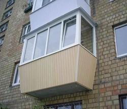 остекление балконов в Новодвинске